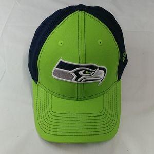 Seattle Seahawks Cap, New Era, w/Adjustment strap